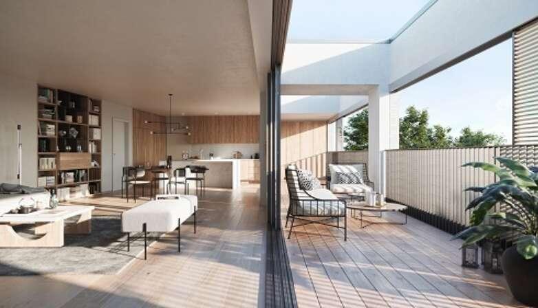 Kolmont Refuga penthouses te koop interieur Hasselt